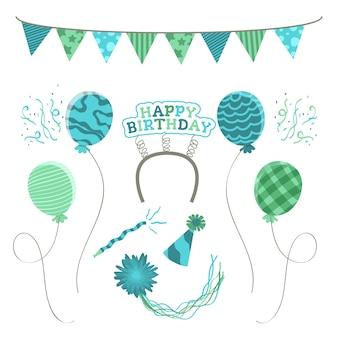 創造的な誕生日の装飾