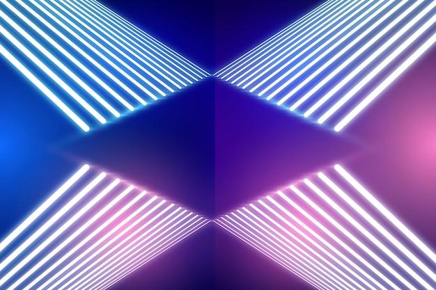 Концепция фон неоновые огни