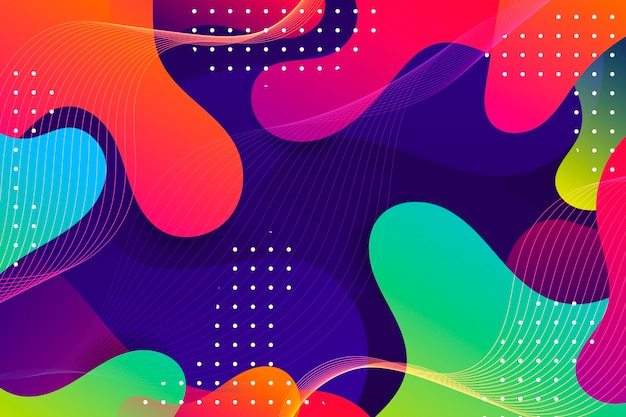 Фон красочный абстрактный