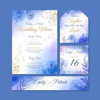 Элегантные свадебные канцтовары