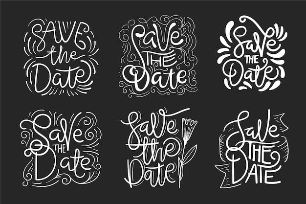 Сохранить концепцию надписи даты