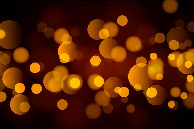 Абстрактный золотой боке