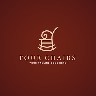 Элегантный дизайн для логотипа мебели