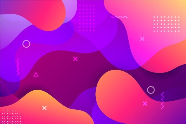 Мемфис фон абстрактный дизайн