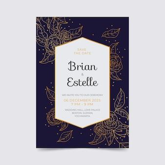 Свадебные приглашения люкс дизайн
