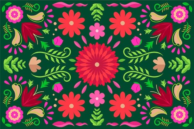 Красочный мексиканский фон концепции