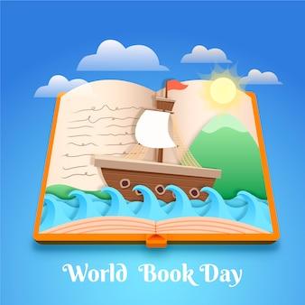 Празднование всемирного дня книги