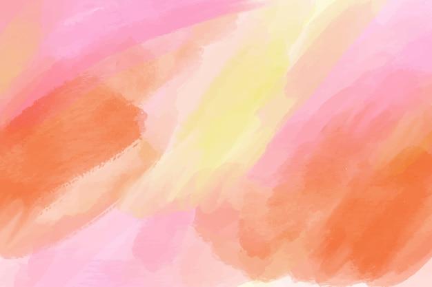 背景を描いた水彩画のスタイル
