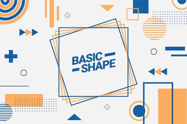 グラフィックデザインの幾何学的な背景