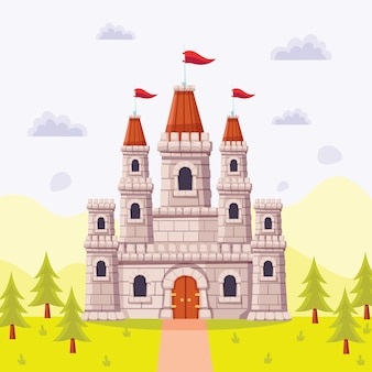 Концепция сказочного замка