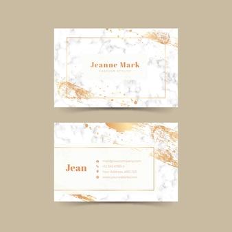Роскошная визитка