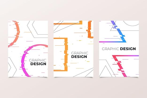 グラフィックデザイングリッチカバーコレクション