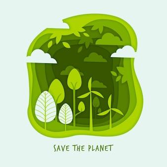 紙のスタイルの生態学の概念