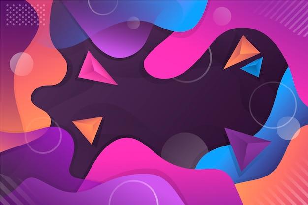 三角形と抽象的な背景