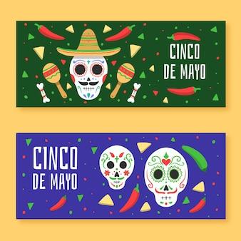 Шаблон баннеров синко де майо