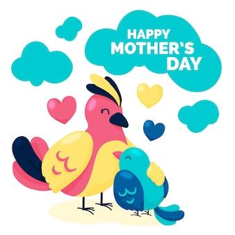 День матери рисования