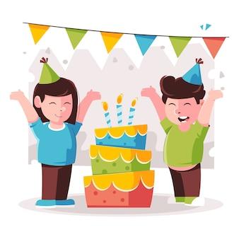 Концепция с днем рождения