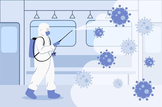 ウイルス消毒の概念