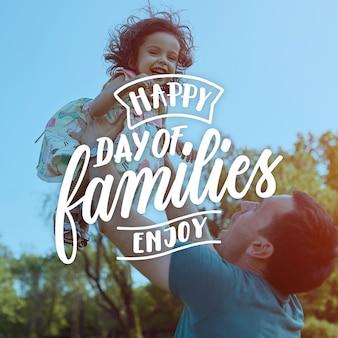 Ручной обращается международный день семей