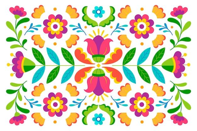 Красочный дизайн мексиканский фон