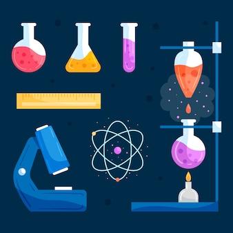 科学実験室オブジェクトコレクション
