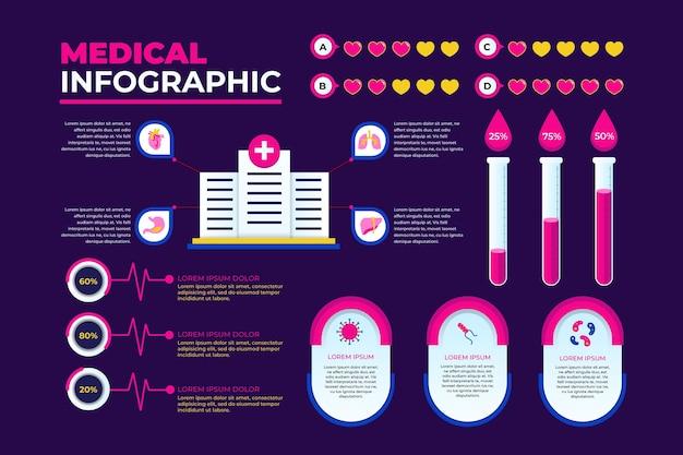 Медицинская инфографика концепция