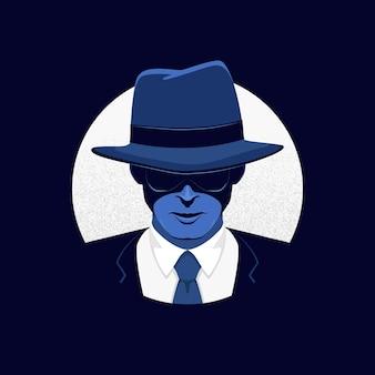 Загадочный гангстерский персонаж
