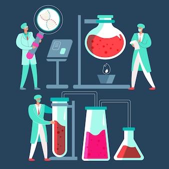 Ученые, работающие концепции