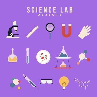 Объекты научной лаборатории