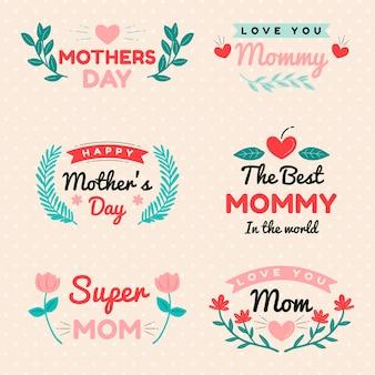 Коллекция меток дня матери