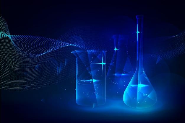 Футуристическая наука лабораторный фон