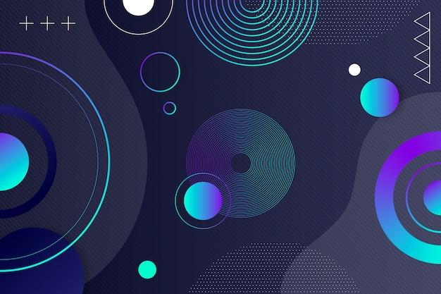 Абстрактный фон с кругами