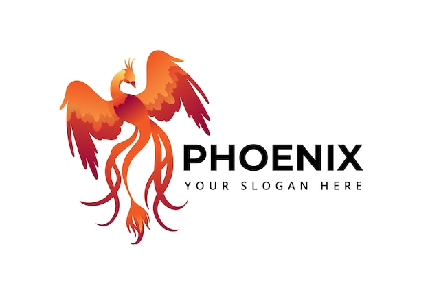 Символ логотипа феникса