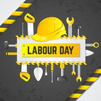 Реалистичный трудовой день с инструментами