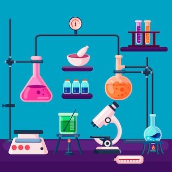 フラット科学実験室のコンセプト