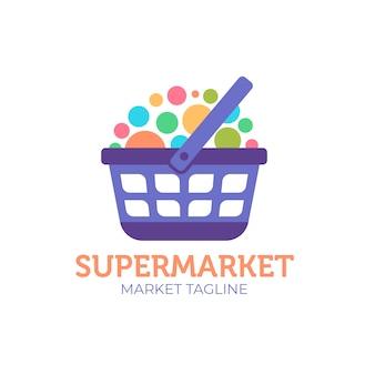 スーパーマーケットのロゴ