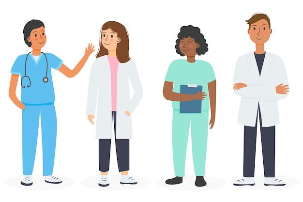 Коллекция профессиональных медицинских работников