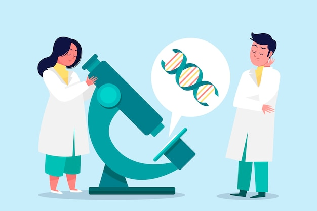 Ученые, работающие вместе