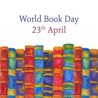 世界の本の日のお祝い