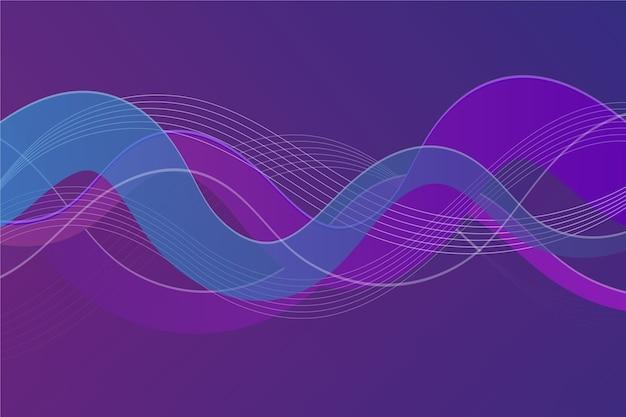 波状デザインの背景