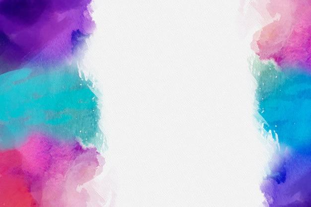 Красочный акварельный фон