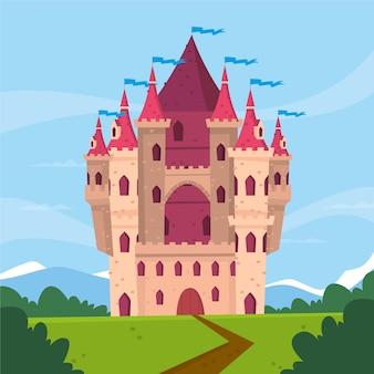 おとぎ話の城のコンセプト