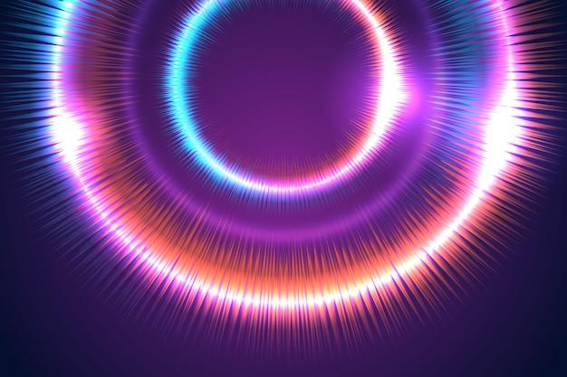 ネオンの背景のコンセプト