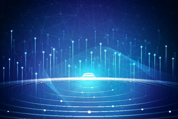 Концепция технологии фона