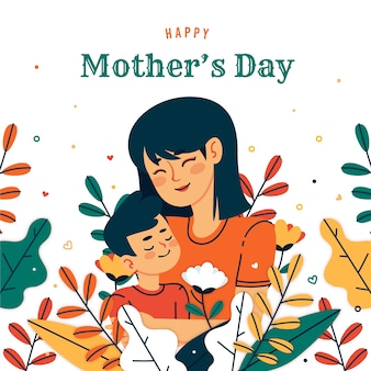 День матери приветствие концепция