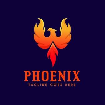 Концепция логотипа феникс