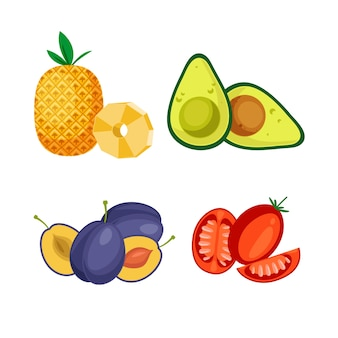 Набор здоровых продуктов питания