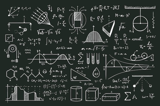 Ручной обращается стиль математических формул