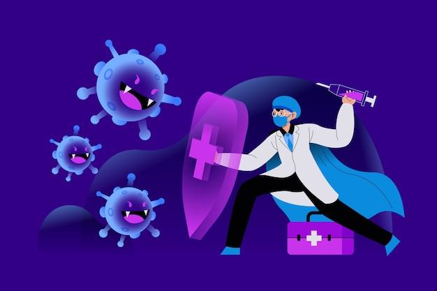Боритесь с концепцией вируса
