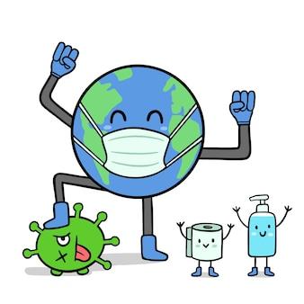 Бороться с концепцией вируса